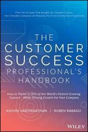 The Customer Success Professional?s Handbook by Ashvin Vaidyanathan image