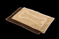 Pawise: Microfiber Chenille Dog Mat - 50x80cm/Caffee