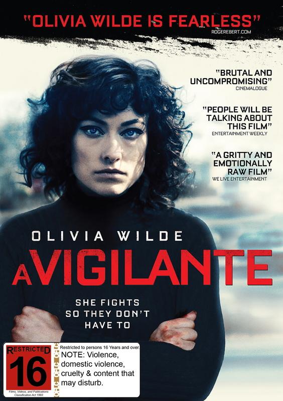 A Vigilante on DVD