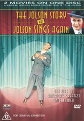 Jolson Story, The + Jolson sings again on DVD