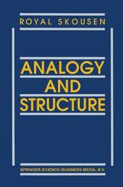 Analogy and Structure by Royal Skousen