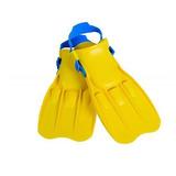Intex: Swim Fins - Medium (Yellow)