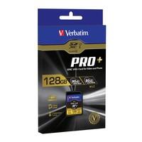 Verbatim Pro+ SDXC UHS-I Memory Card - 128GB (U3) image