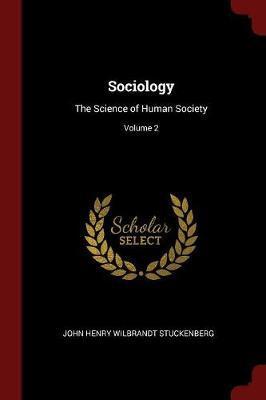 Sociology by John Henry Wilbrandt Stuckenberg image