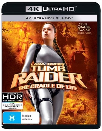 Lara Croft Tomb Raider 2: The Cradle Of Life on UHD Blu-ray