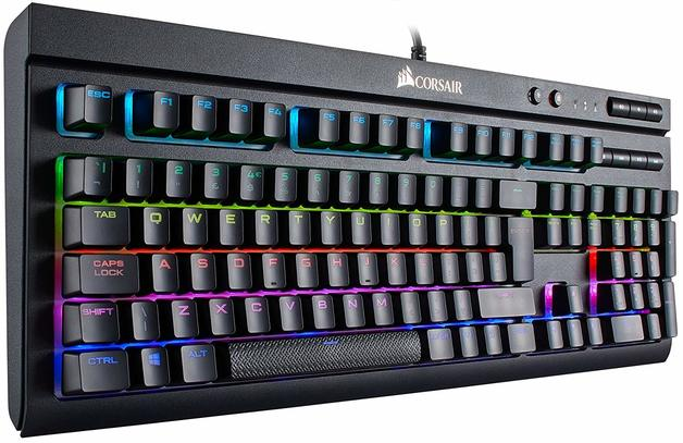 Corsair K68 RGB Mechanical Gaming Keyboard (Cherry MX Red) for PC