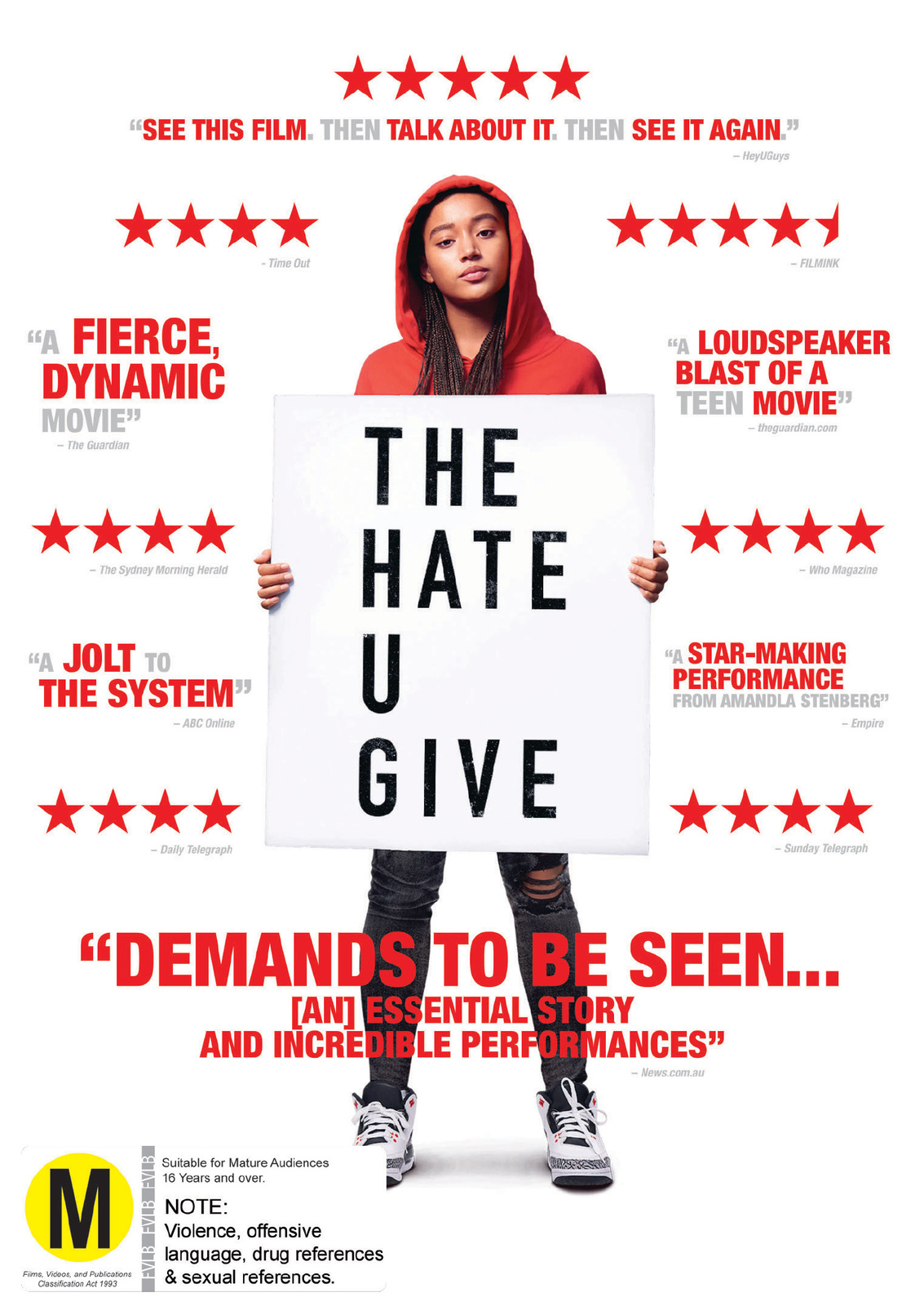 The Hate U Give on DVD image