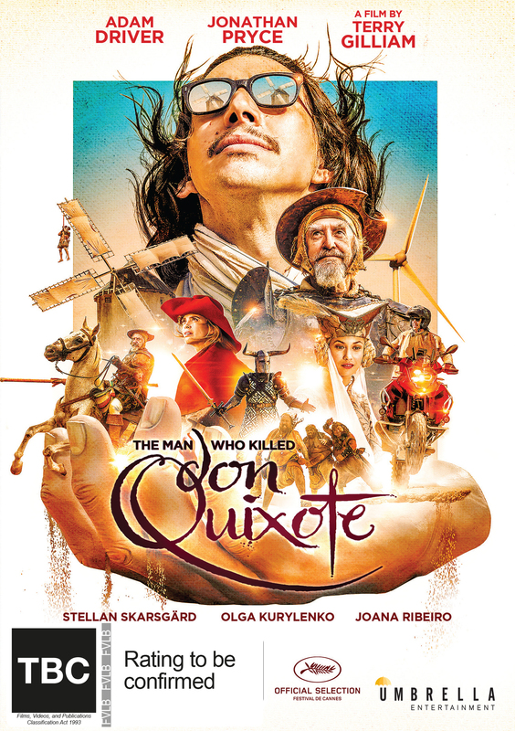 The Man Who Killed Don Quixote on DVD