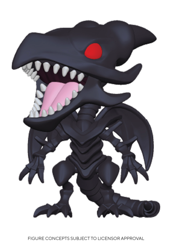 Yu-Gi-Oh! - Red-Eyes Black Dragon Pop! Vinyl Figure