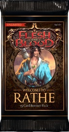 Flesh and Blood TCG: Welcome to Rathe Single Booster (Unlimited)