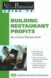 Food Service Professionals Guide to Building Restaurant Profits by Jennifer Hudson Taylor image