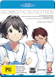 Robotics;Notes - Collection 1 on Blu-ray