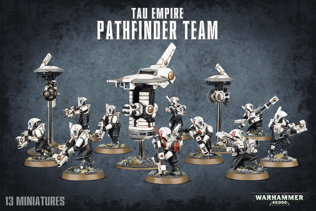 Warhammer 40,000 Tau Empire - Pathfinder Team