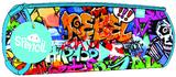 Spencil: Barrel Pencil Case - Rebel Graffiti