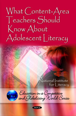 What Content-Area Teachers Should Know About Adolescent Literacy by National Institute for Literacy