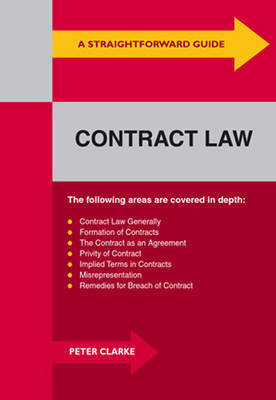 A Straightforward Guide to Contract Law by Peter Clarke image