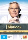 Matlock Collection 3 (Seasons 7-9) on DVD