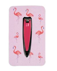 Wicked Sista: Nail Clipper with Buffer - Flamingo