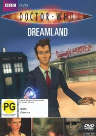 Doctor Who: Dreamland on DVD