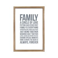 Words To Live By - Family