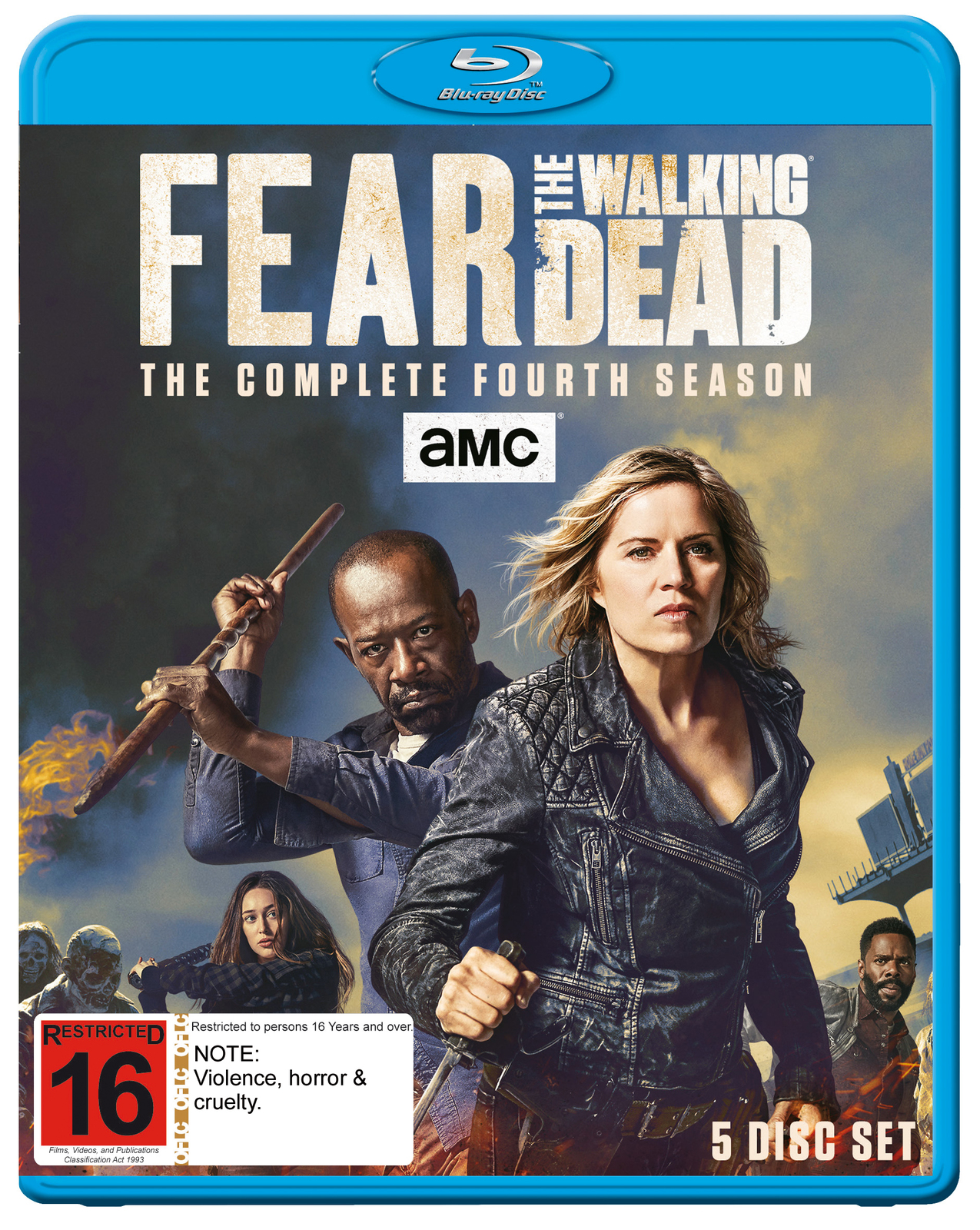 Fear The Walking Dead: The Complete Fourth Season on Blu-ray image