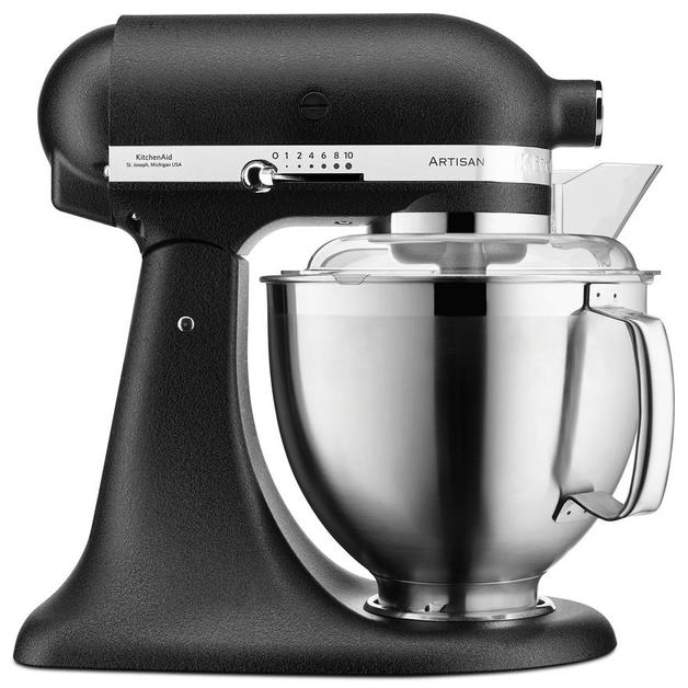 KitchenAid: Artisan Stand Mixer - Cast Iron Black