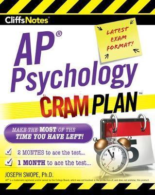Cliffsnotes AP Psychology Cram Plan by Joseph M Swope