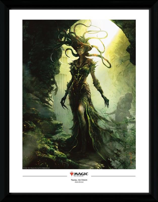 Magic The Gathering: Vraska The Unseen - Collector Print (41x30.5cm)