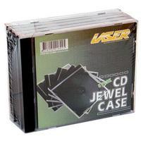 Laser 5 Pack CD/DVD Single Jewel Cases image