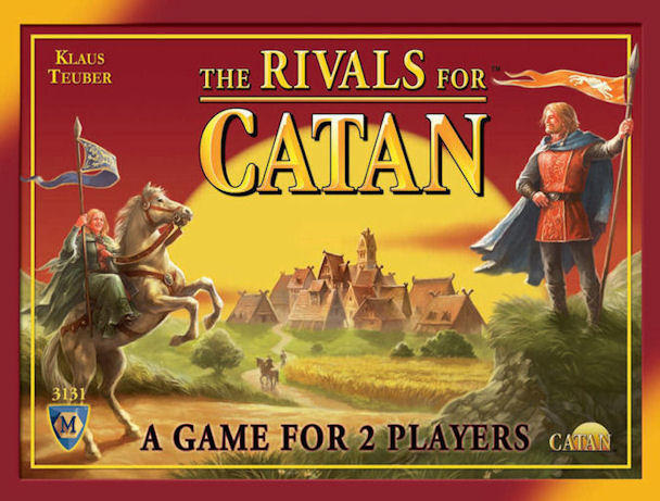 The Rivals for Catan Card Game image