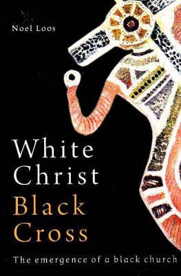 White Christ Black Cross by Noel Loos