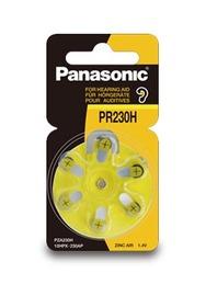 Panasonic Zinc Air Hearing Aid Battery - PR230H