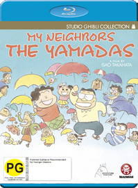 My Neighbors the Yamadas on Blu-ray