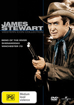 James Stewart - Western Icon Collection (Bend Of The River / Shenandoah / Winchester 73) (3 Disc Set) on DVD