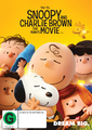 Snoopy And Charlie Brown The Peanuts Movie on DVD