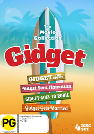 The Complete Gidget Film Box Set on DVD