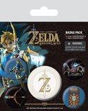 The Legend of Zelda Breath of the Wild Pin Badges (Z Emblem)