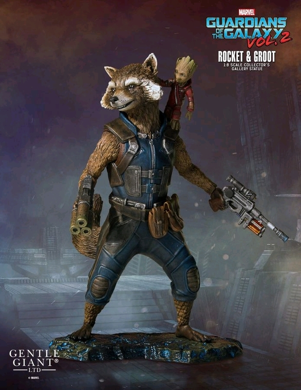 Guardians of the Galaxy Vol.2 - 1/8 Rocket & Groot Collector's Gallery Statue