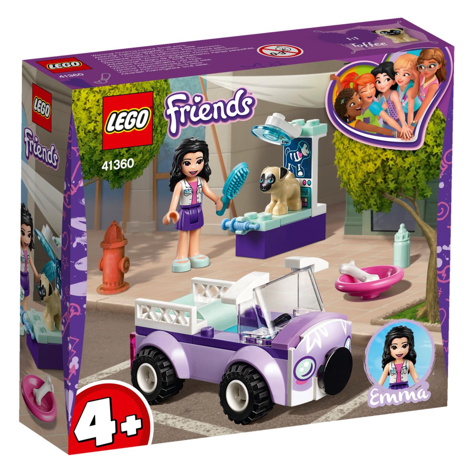 LEGO Friends: Emma's Mobile Vet Clinic (41360) image