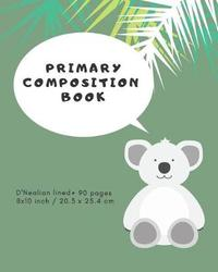 Primary Composition Book by Notebooks For All