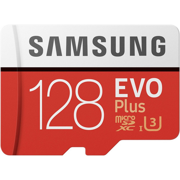 128GB Samsung EVO PLUS Micro SDXC with Adapter