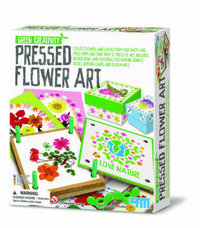 4M Green Creativity - Pressed Flower Art image