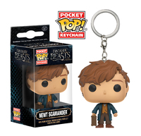 Fantastic Beasts - Newt Pocket Pop! Keychain image