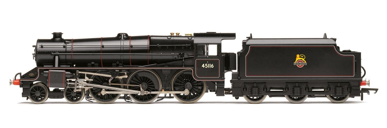 Hornby: BR 4-6-0 '45116' 'Black 5' Class 5MT with TTS Sound image