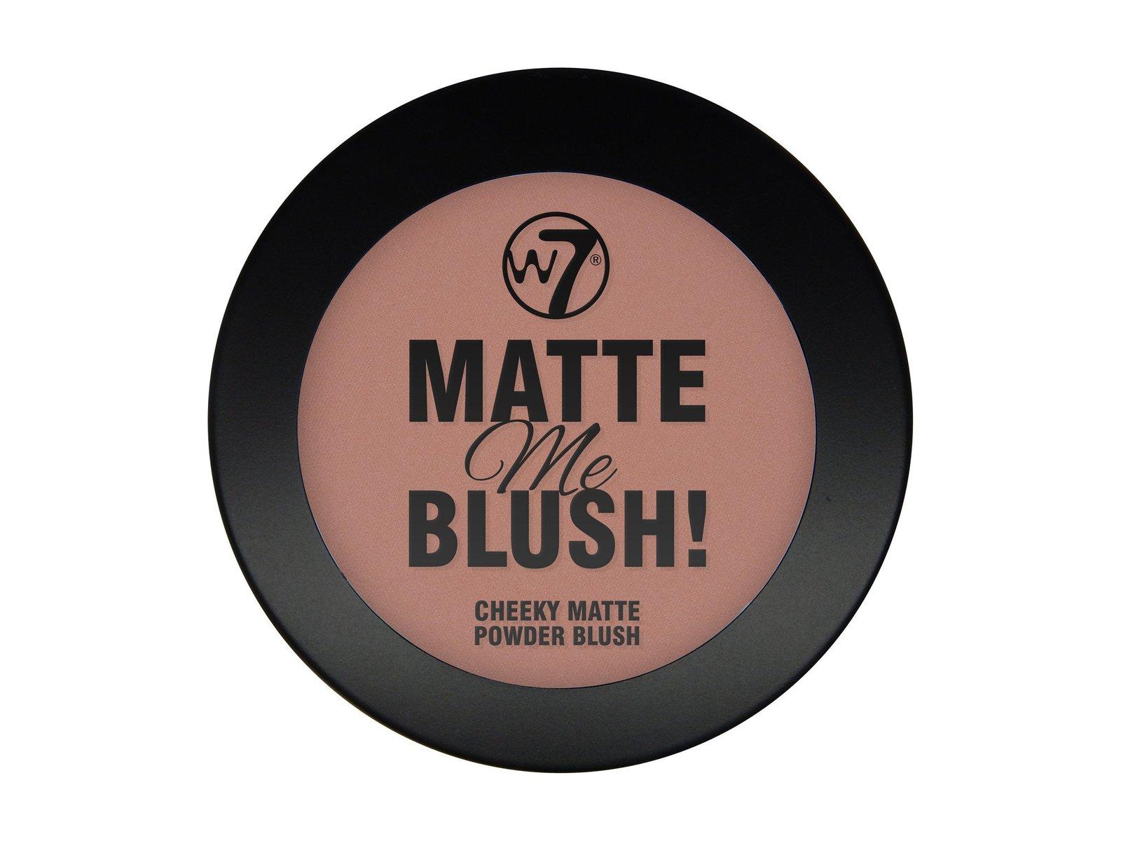 W7 Matte Me Blush (El Toro) image