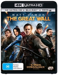 The Great Wall on Blu-ray, UHD Blu-ray