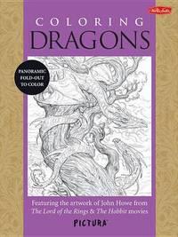 Coloring Dragons by John Howe