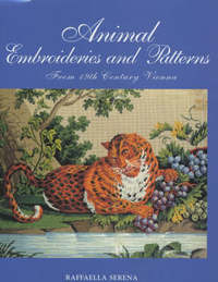 Animal Embroideries and Patterns by Raffaella Serena