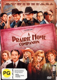 A Prairie Home Companion on DVD image