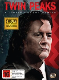 Twin Peaks: A Limited Event Series (2017) on DVD image